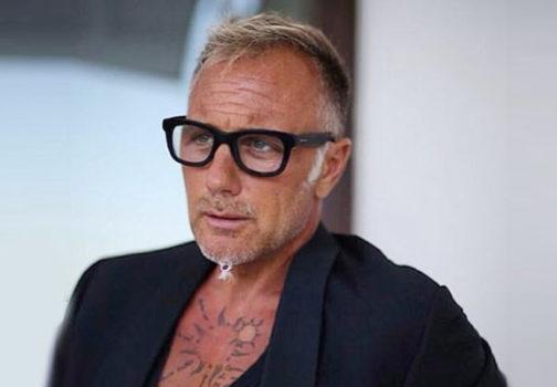 Gli occhiali di Gianluca Vacchi